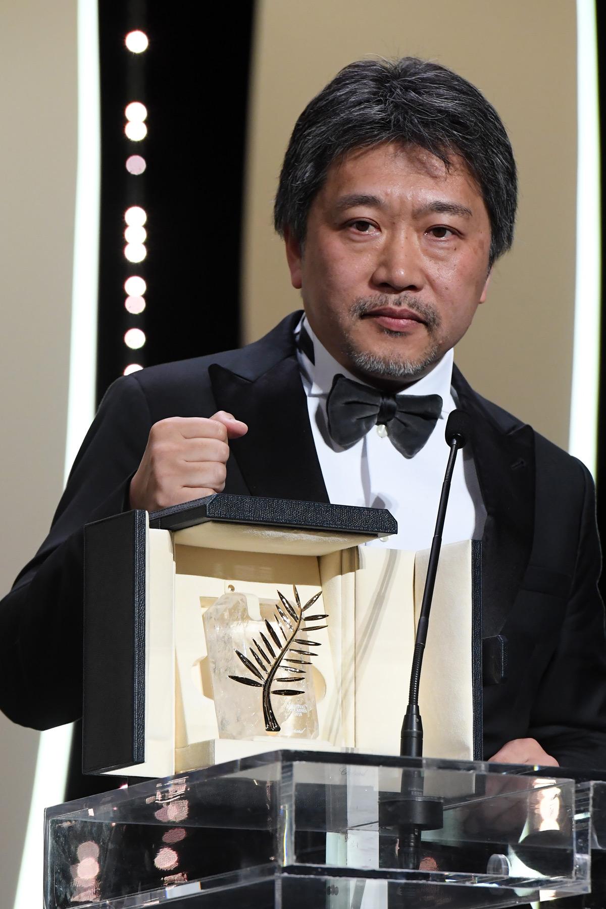 是枝裕和監督の『万引き家族』が2018カンヌ映画祭パルム・ドールを受賞!
